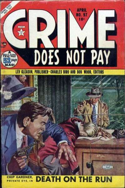Crime Does Not Pay #97 comic books for sale