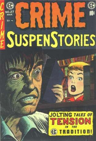 Crime SuspenStories #27 Comic Books - Covers, Scans, Photos  in Crime SuspenStories Comic Books - Covers, Scans, Gallery