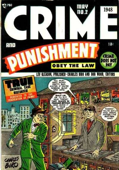 Crime and Punishment #2 comic books for sale