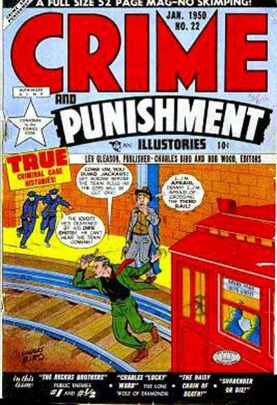 Crime and Punishment #22 comic books for sale