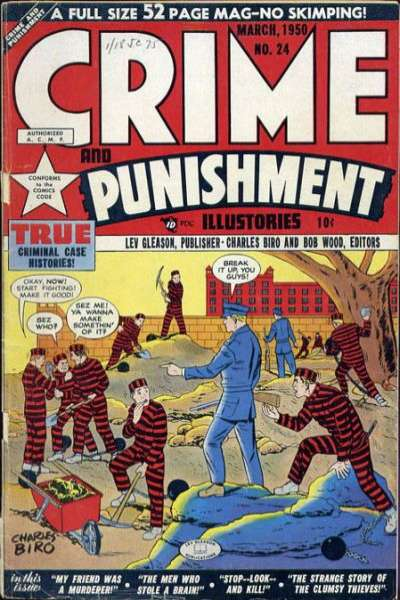 Crime and Punishment #24 Comic Books - Covers, Scans, Photos  in Crime and Punishment Comic Books - Covers, Scans, Gallery