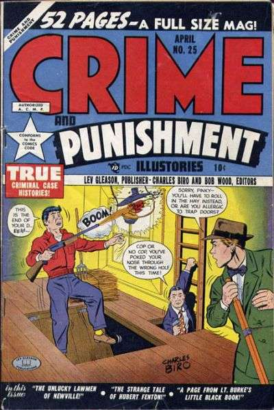 Crime and Punishment #25 comic books for sale