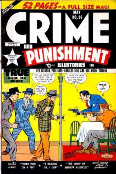 Crime and Punishment #26 comic books for sale