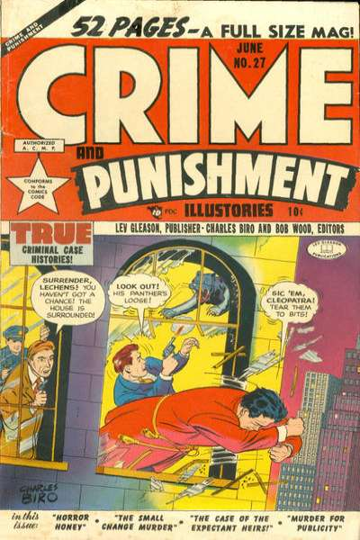 Crime and Punishment #27 Comic Books - Covers, Scans, Photos  in Crime and Punishment Comic Books - Covers, Scans, Gallery