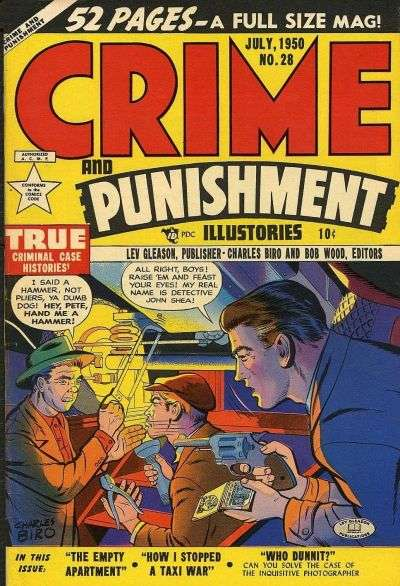 Crime and Punishment #28 Comic Books - Covers, Scans, Photos  in Crime and Punishment Comic Books - Covers, Scans, Gallery