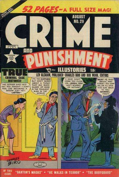 Crime and Punishment #29 comic books for sale