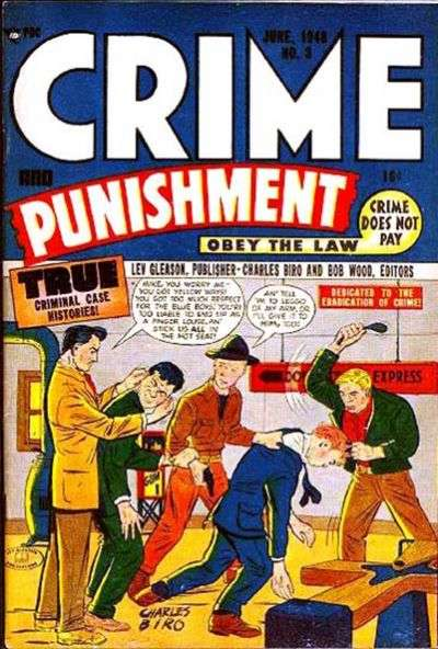 Crime and Punishment #3 comic books for sale