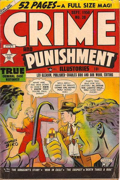 Crime and Punishment #30 Comic Books - Covers, Scans, Photos  in Crime and Punishment Comic Books - Covers, Scans, Gallery
