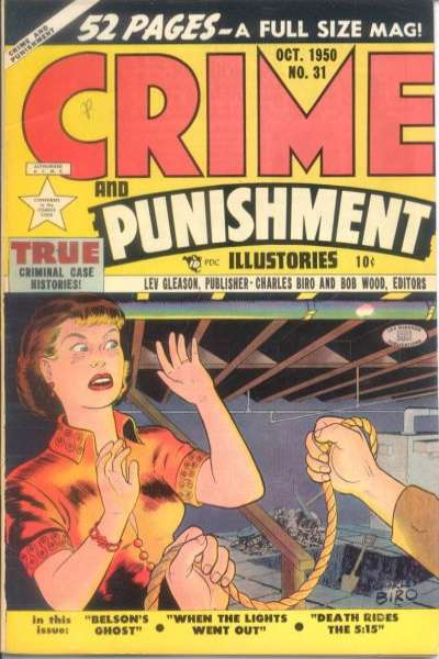 Crime and Punishment #31 comic books for sale