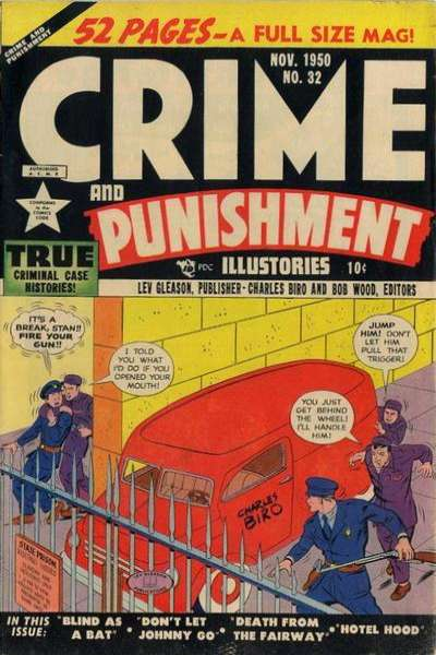 Crime and Punishment #32 comic books for sale