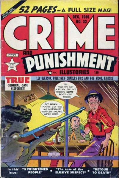 Crime and Punishment #33 Comic Books - Covers, Scans, Photos  in Crime and Punishment Comic Books - Covers, Scans, Gallery