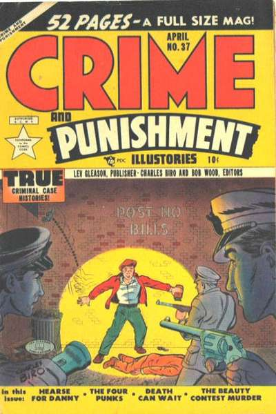 Crime and Punishment #37 comic books for sale