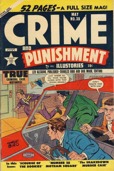 Crime and Punishment #38 Comic Books - Covers, Scans, Photos  in Crime and Punishment Comic Books - Covers, Scans, Gallery