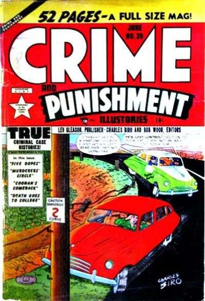 Crime and Punishment #39 Comic Books - Covers, Scans, Photos  in Crime and Punishment Comic Books - Covers, Scans, Gallery