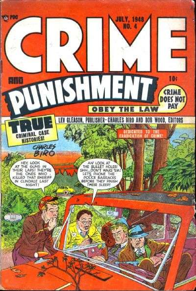 Crime and Punishment #4 comic books for sale