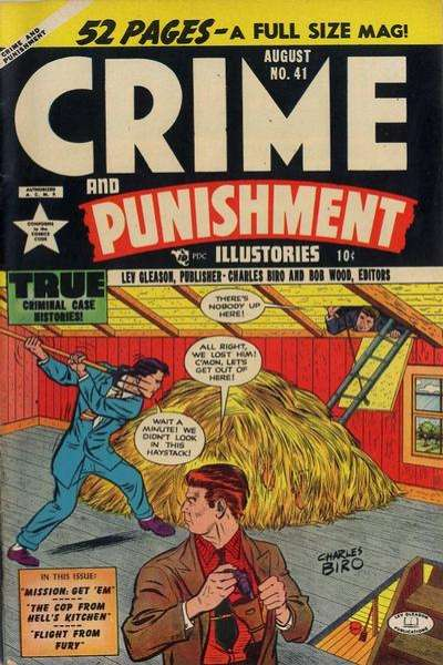 Crime and Punishment #41 Comic Books - Covers, Scans, Photos  in Crime and Punishment Comic Books - Covers, Scans, Gallery