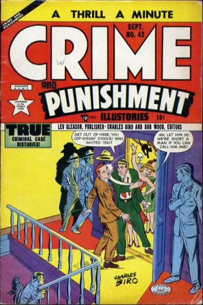 Crime and Punishment #42 Comic Books - Covers, Scans, Photos  in Crime and Punishment Comic Books - Covers, Scans, Gallery