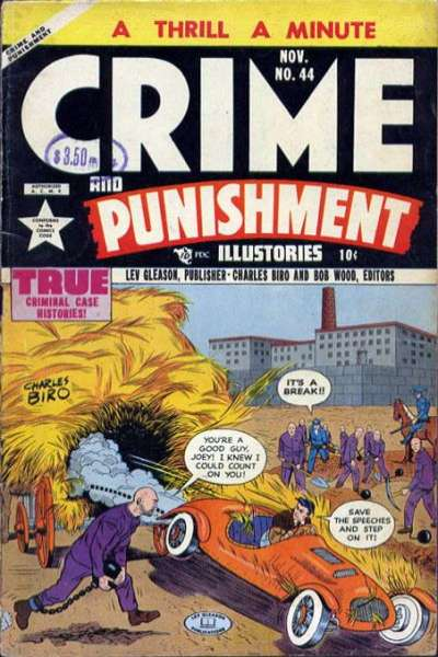 Crime and Punishment #44 Comic Books - Covers, Scans, Photos  in Crime and Punishment Comic Books - Covers, Scans, Gallery
