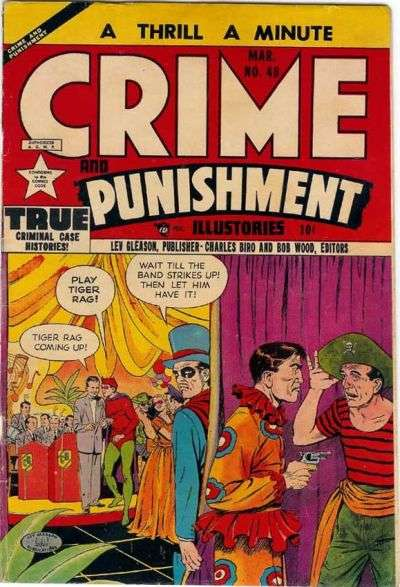 Crime and Punishment #48 comic books for sale
