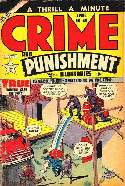 Crime and Punishment #49 Comic Books - Covers, Scans, Photos  in Crime and Punishment Comic Books - Covers, Scans, Gallery