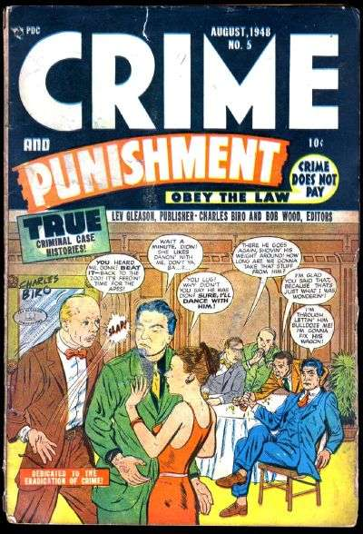 Crime and Punishment #5 comic books for sale
