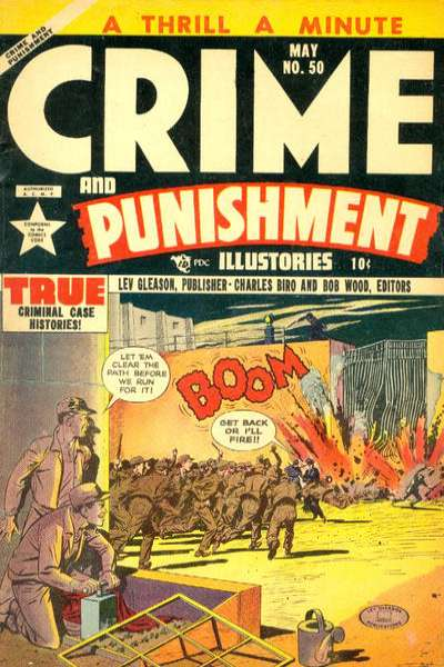 Crime and Punishment #50 comic books for sale