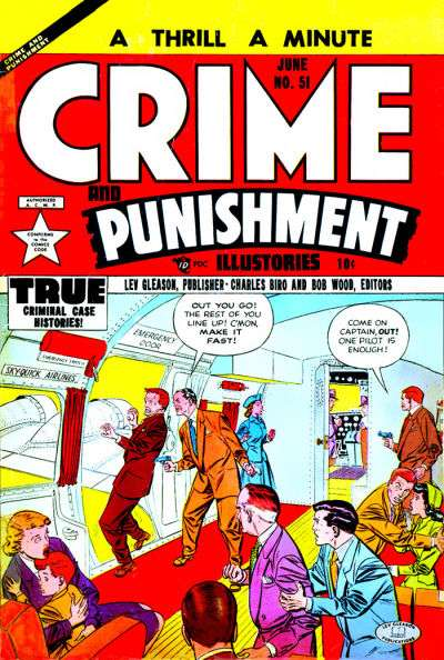 Crime and Punishment #51 Comic Books - Covers, Scans, Photos  in Crime and Punishment Comic Books - Covers, Scans, Gallery