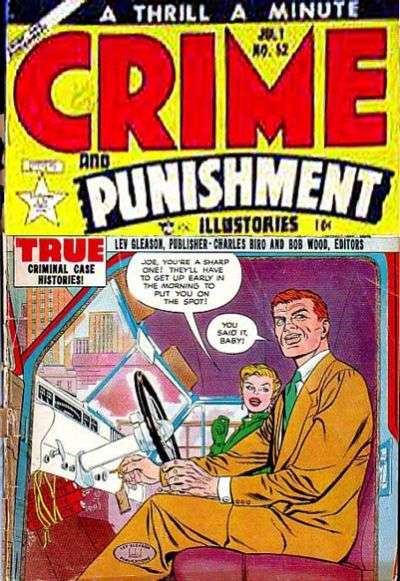 Crime and Punishment #52 Comic Books - Covers, Scans, Photos  in Crime and Punishment Comic Books - Covers, Scans, Gallery