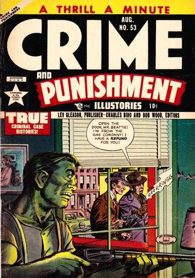 Crime and Punishment #53 Comic Books - Covers, Scans, Photos  in Crime and Punishment Comic Books - Covers, Scans, Gallery