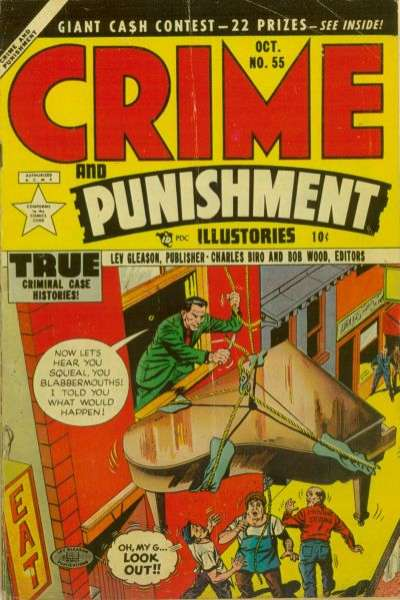 Crime and Punishment #55 Comic Books - Covers, Scans, Photos  in Crime and Punishment Comic Books - Covers, Scans, Gallery