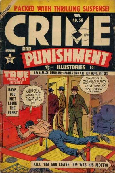 Crime and Punishment #56 comic books for sale