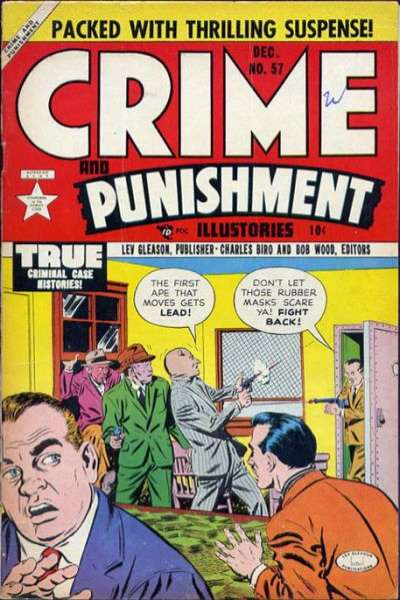 Crime and Punishment #57 comic books for sale