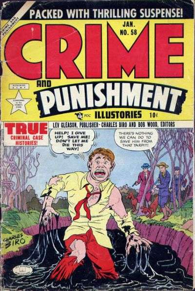 Crime and Punishment #58 Comic Books - Covers, Scans, Photos  in Crime and Punishment Comic Books - Covers, Scans, Gallery