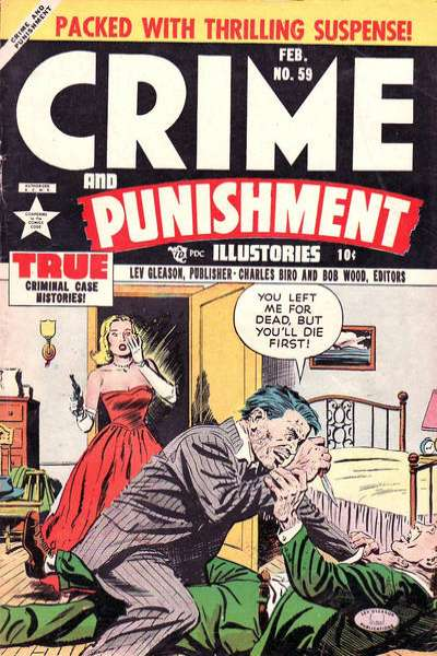 Crime and Punishment #59 Comic Books - Covers, Scans, Photos  in Crime and Punishment Comic Books - Covers, Scans, Gallery