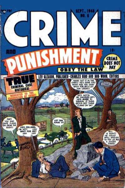 Crime and Punishment #6 comic books for sale