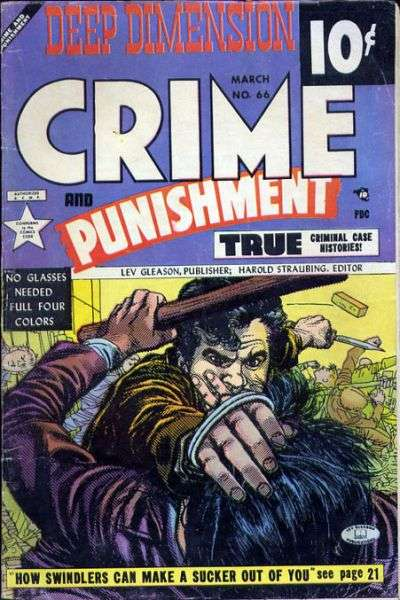 Crime and Punishment #66 Comic Books - Covers, Scans, Photos  in Crime and Punishment Comic Books - Covers, Scans, Gallery