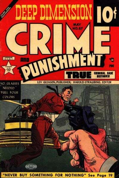 Crime and Punishment #67 Comic Books - Covers, Scans, Photos  in Crime and Punishment Comic Books - Covers, Scans, Gallery