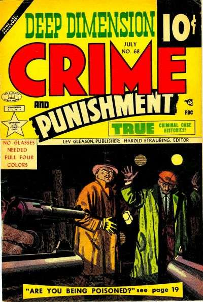 Crime and Punishment #68 comic books - cover scans photos Crime and Punishment #68 comic books - covers, picture gallery