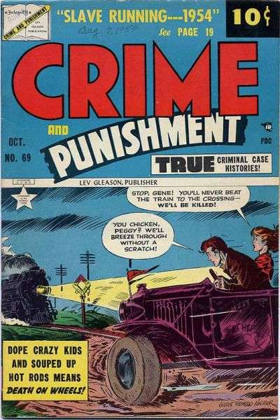 Crime and Punishment #69 Comic Books - Covers, Scans, Photos  in Crime and Punishment Comic Books - Covers, Scans, Gallery