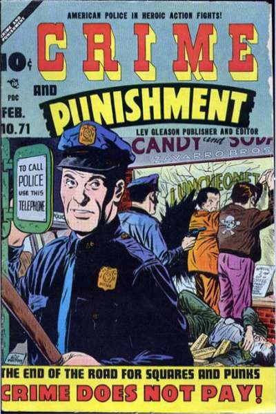 Crime and Punishment #71 Comic Books - Covers, Scans, Photos  in Crime and Punishment Comic Books - Covers, Scans, Gallery