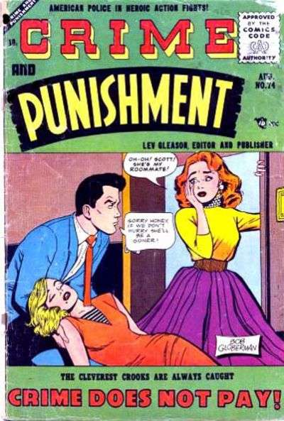 Crime and Punishment #74 Comic Books - Covers, Scans, Photos  in Crime and Punishment Comic Books - Covers, Scans, Gallery
