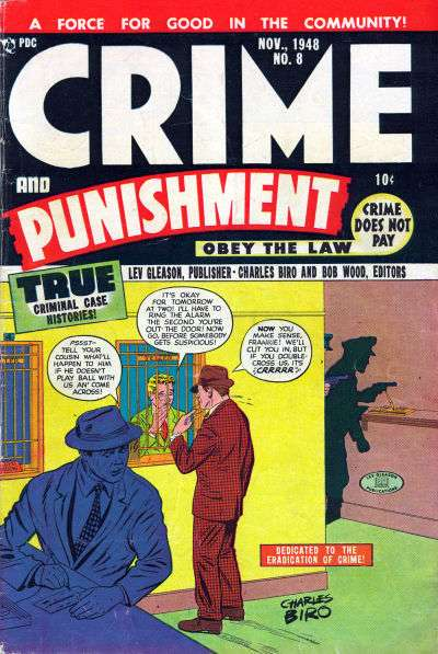 Crime and Punishment #8 comic books for sale