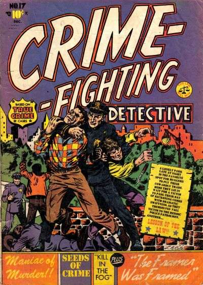 Crime-Fighting Detective #17 comic books - cover scans photos Crime-Fighting Detective #17 comic books - covers, picture gallery