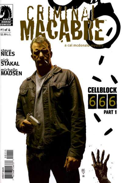 Criminal Macabre: Cell Block 666 #1 comic books - cover scans photos Criminal Macabre: Cell Block 666 #1 comic books - covers, picture gallery