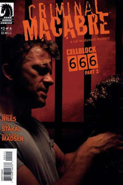 Criminal Macabre: Cell Block 666 #2 comic books - cover scans photos Criminal Macabre: Cell Block 666 #2 comic books - covers, picture gallery