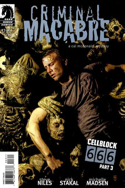 Criminal Macabre: Cell Block 666 #3 comic books - cover scans photos Criminal Macabre: Cell Block 666 #3 comic books - covers, picture gallery