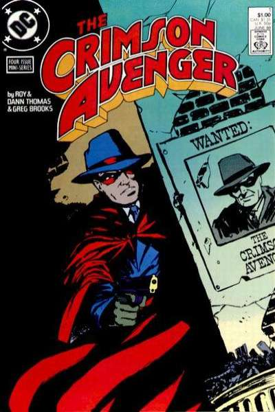 Crimson Avenger comic books