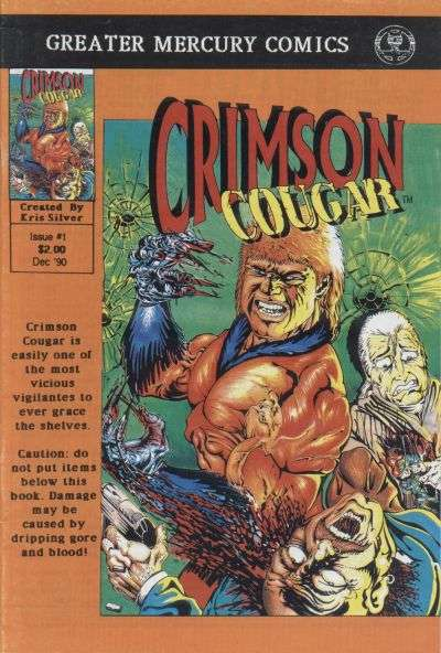 Crimson Cougar #1 comic books - cover scans photos Crimson Cougar #1 comic books - covers, picture gallery