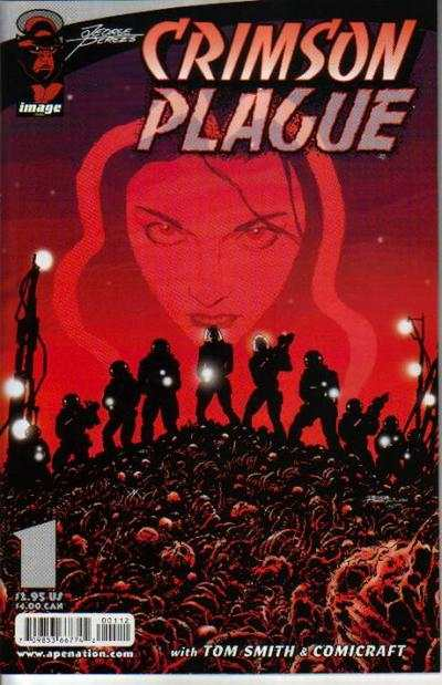 Crimson Plague #1 comic books - cover scans photos Crimson Plague #1 comic books - covers, picture gallery