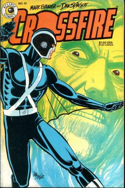Crossfire #10 Comic Books - Covers, Scans, Photos  in Crossfire Comic Books - Covers, Scans, Gallery